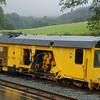 P&T KMX95 Tamper - Beddgelert, Welsh Highland Railway - 8 September 2013