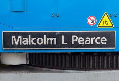 Nameplate on Kirow Crane DRK 81611.