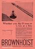 1922 Brown Hoisting Machinery Company.