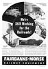 1940 Fairbanks-Morse Railway Equipment.