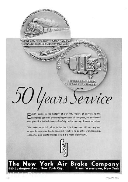 1941 New York Air Brake Company.