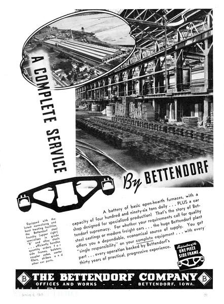 1940 Bettendorf Company.