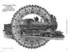 """1896 Pittsburgh Locomotive Works.<br /> <br /> Terre Haute and Peoria Railroad #259, tender marked with """"Vandalia."""""""