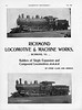 1899 Richmond Locomotive & Machine Company.