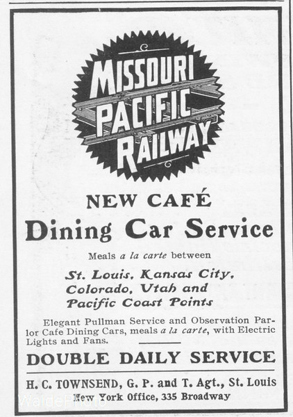 1902 Missouri Pacific Railway.