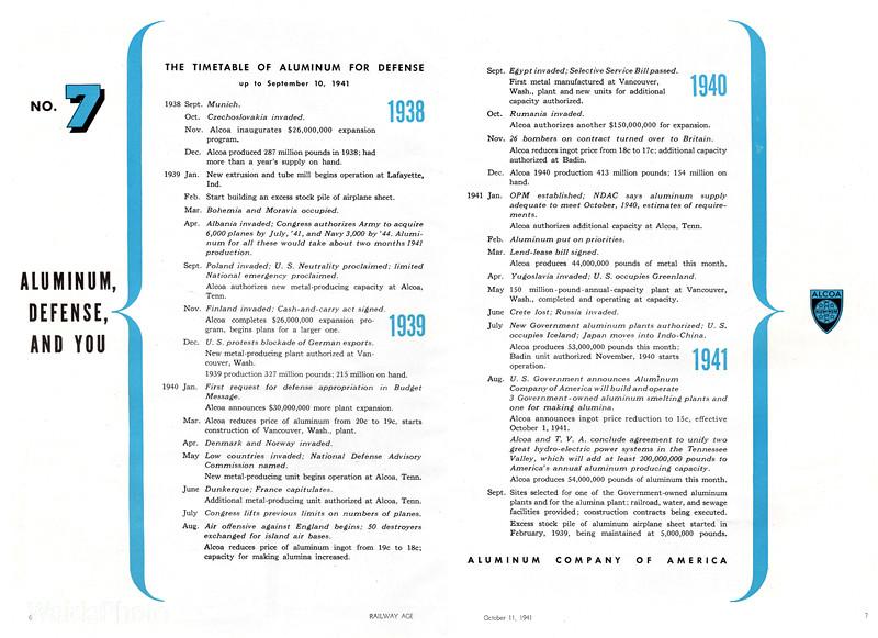 1941 Aluminum Company of America - Aluminum, Defense, and You #7.