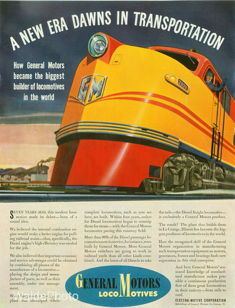 1941 General Motors and Electro-Motive Corporation.