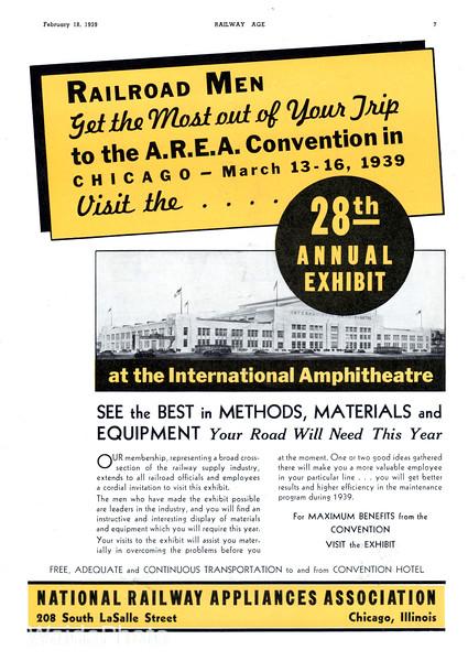 1939 National Railway Appliances Association.