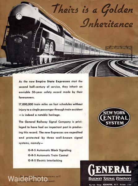 1941 General Railway Signal Company.