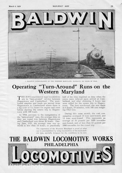 1922 Baldwin.