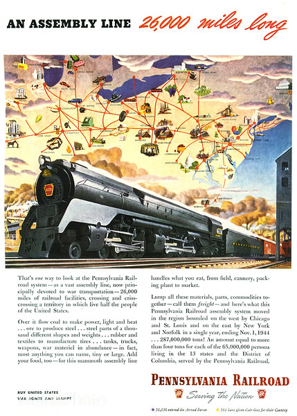 1940's Pennsylvania Railroad