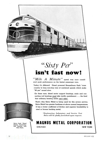 1939 Mangus Metal Corporation.