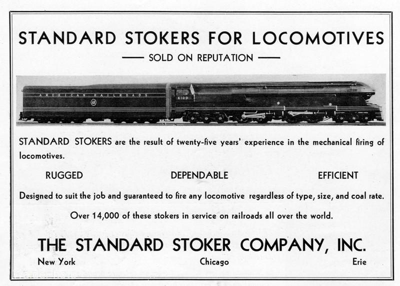 1939 Standard Stoker Company.