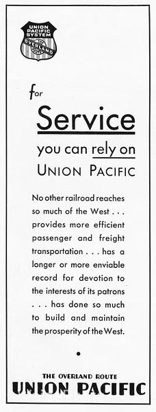 1931 Union Pacific.