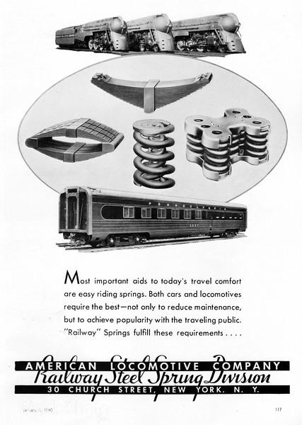 1940 Alco, Railway Spring Division.