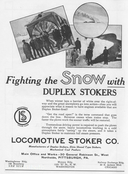 1926 Locomotive Stoker Company