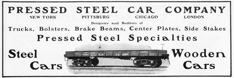 1903 Pressed Steel Car Company.