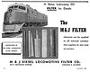 1946 M & J Diesel Locomotive Filter Company.