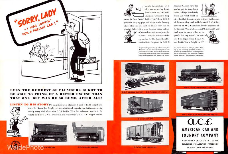 1941 American Car & Foundry Company.