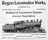 1904 Rogers Locomotive Works.
