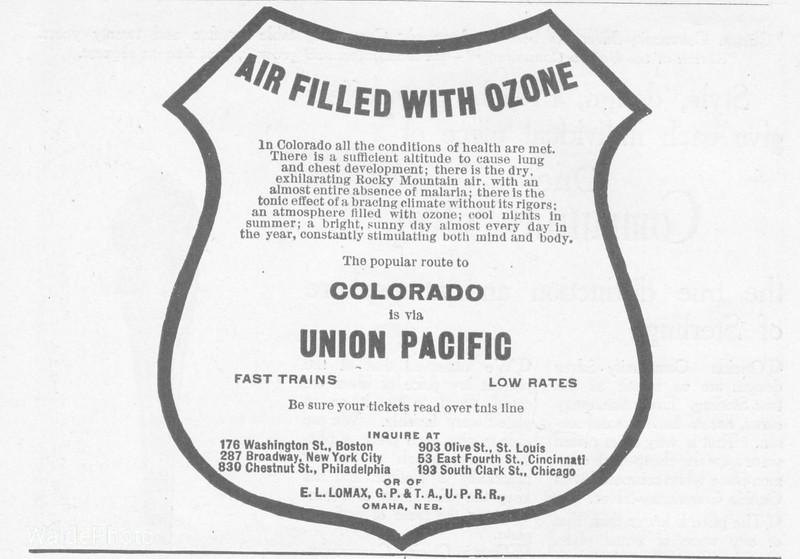 1904 Union Pacific.