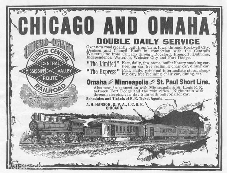 1890's Illinois Central.