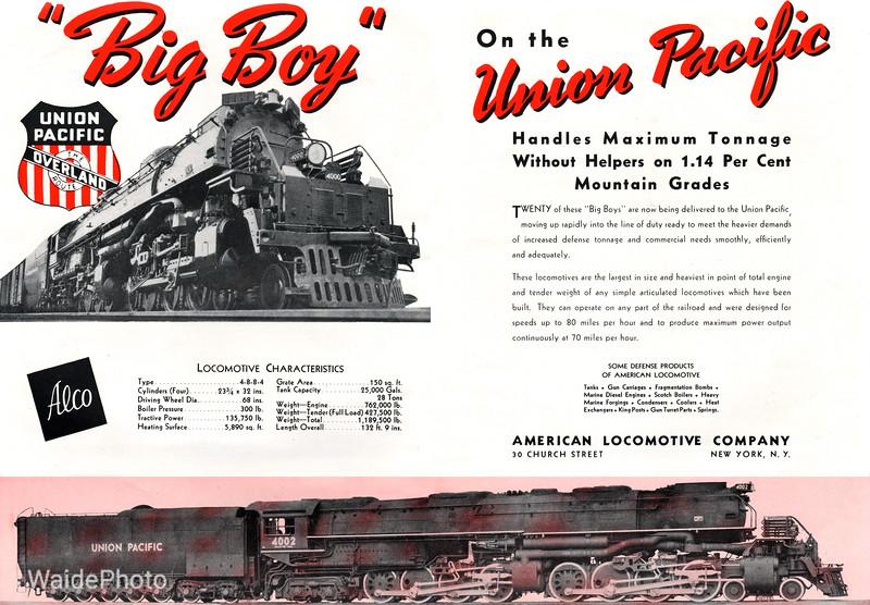 1941 Alco - Big Boy 2.