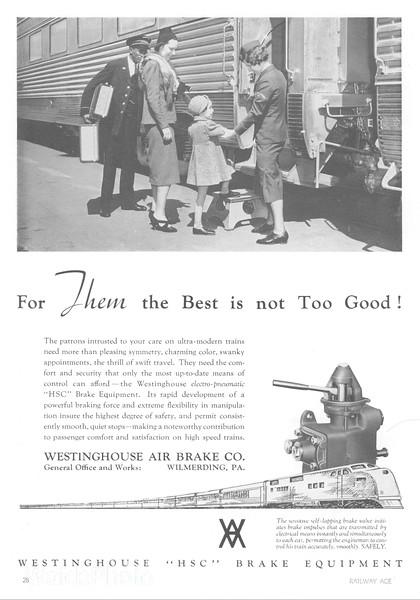 1940 Westinghouse Air Brake.