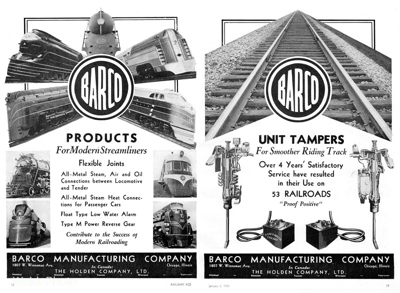 1940 Barco Manufacturing Company.