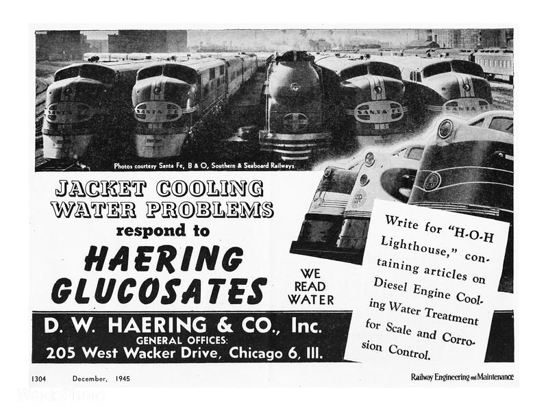 1945 D.W. Haering & Company.