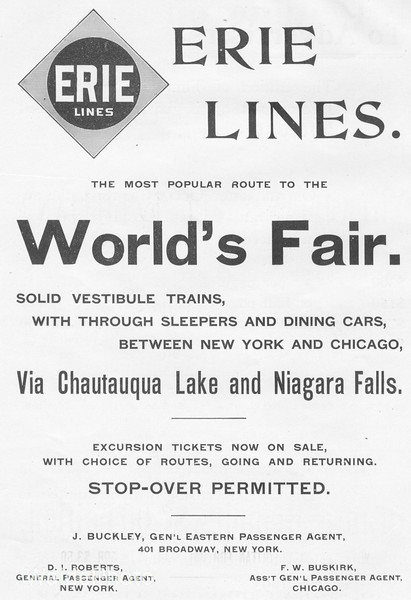 1895 Erie Railway.