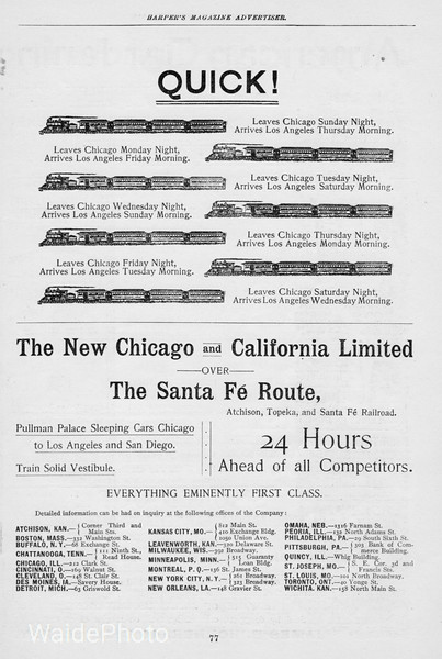 1893 Santa Fe.