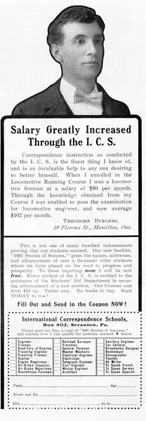 1903 International Correspondence Schools.