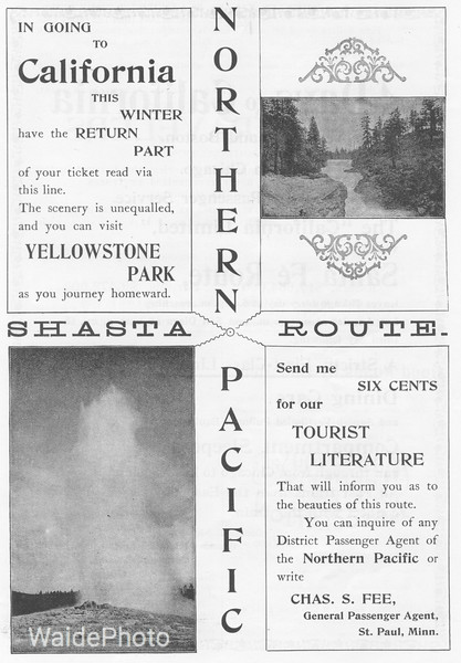 1895 Northern Pacific.