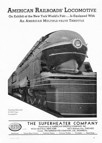 1939 Superheater Company.