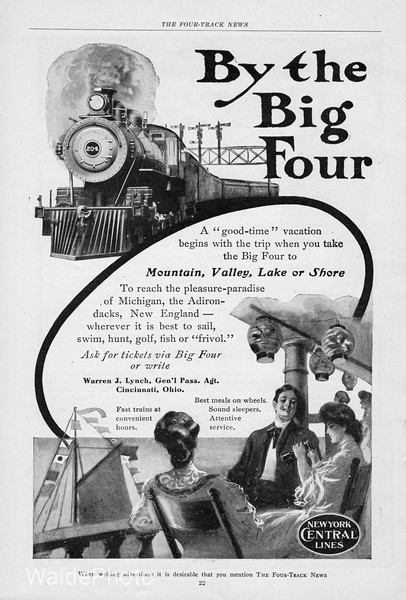 1905 Big Four Route.