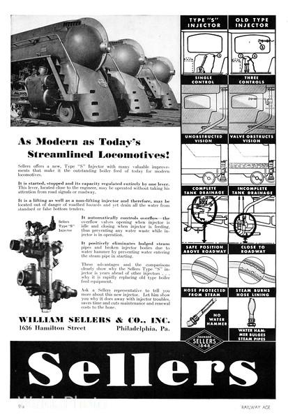 1940 William Sellers & Company.
