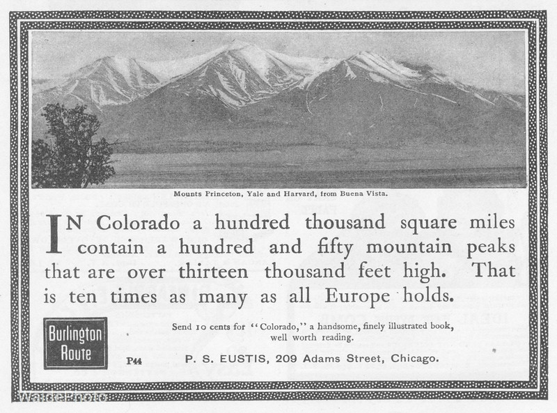 1905 Chicago, Burlington, & Quincy.