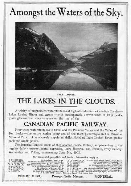 1903 Canadian Pacific.