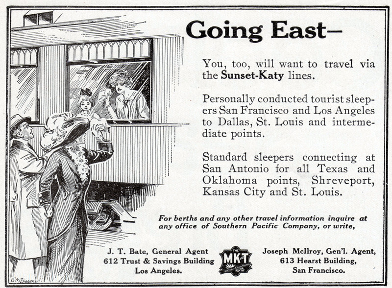 1913 Missouri, Kansas, & Texas Railroad.