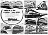 1945 Sinclair Railroad Lubricants.