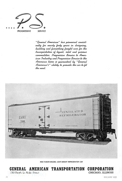 1941 General American Transportation Corporation.
