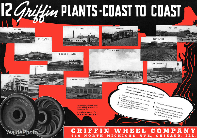 1941 Griffin Wheel Company.