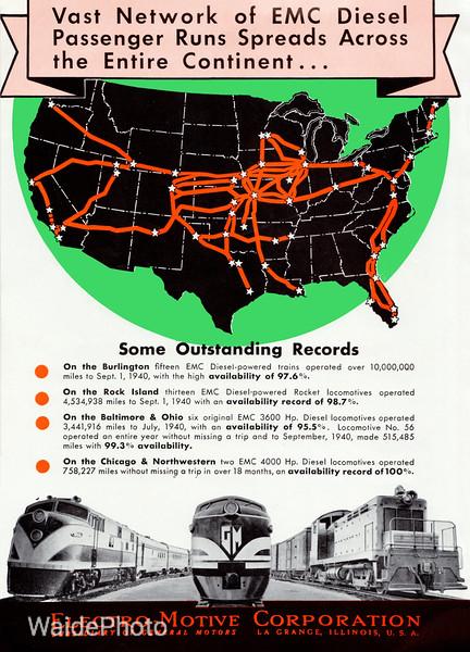 1941 Electro-Motive Corporation, General Motors - Diesels Page 4 of 4.