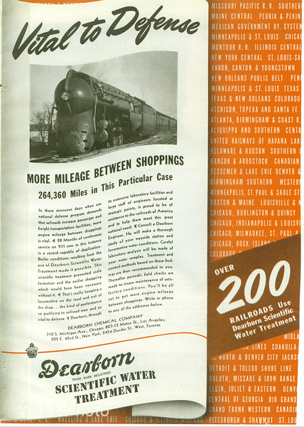 1940's Dearborn Chemical Company.