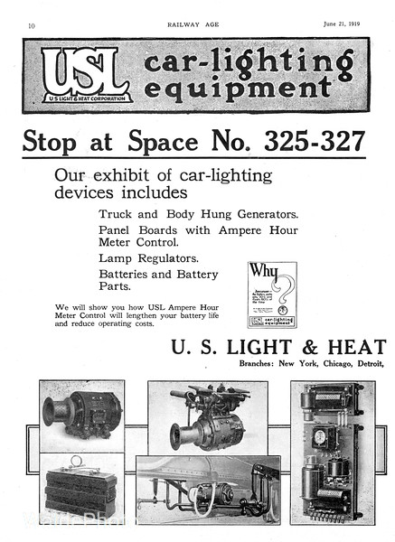 1919 U.S. Light & Heat.