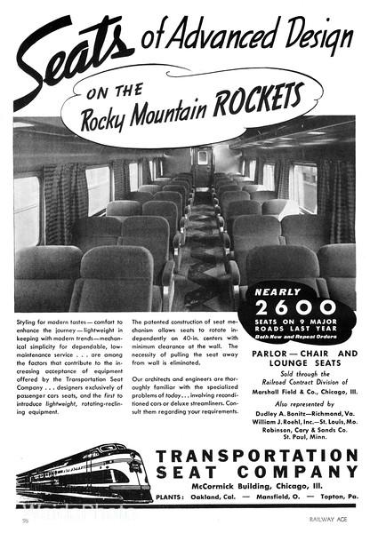 1940 Transportation Seat Company.