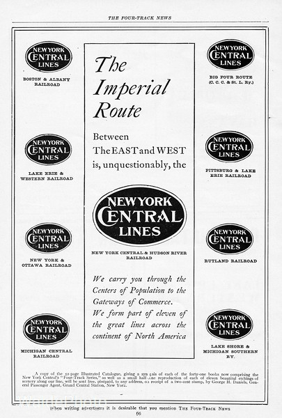 1905  New York Central.