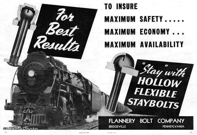1941 Flannery Bolt Company.