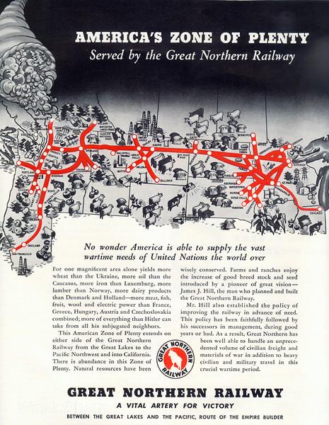 1940's Great Northern Railway.